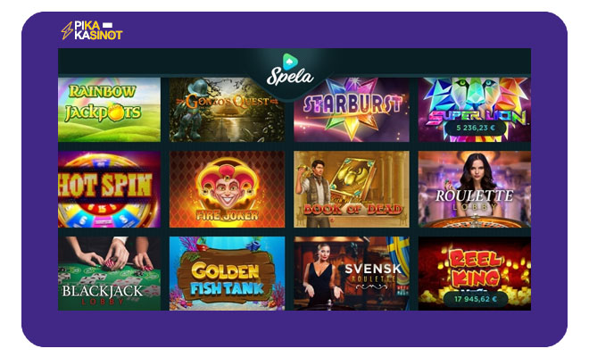 Spela.com kokemuksia