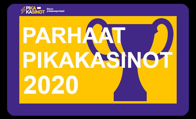 parhaat pikakasinot 2020