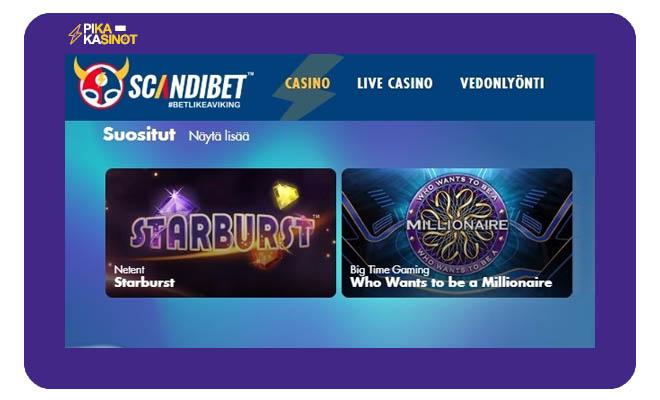 Scandibet kasino