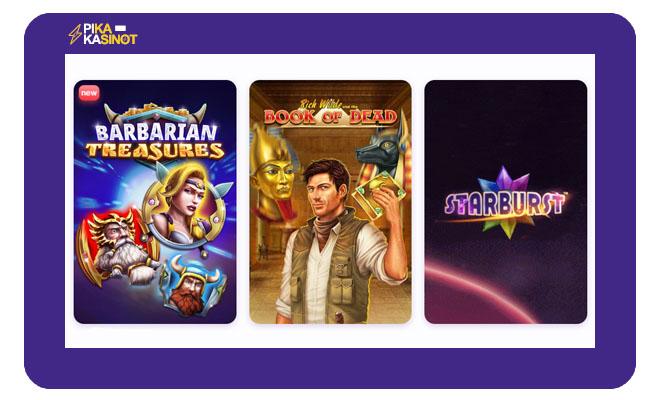 nomini casino kokemuksia pelivalikoimasta