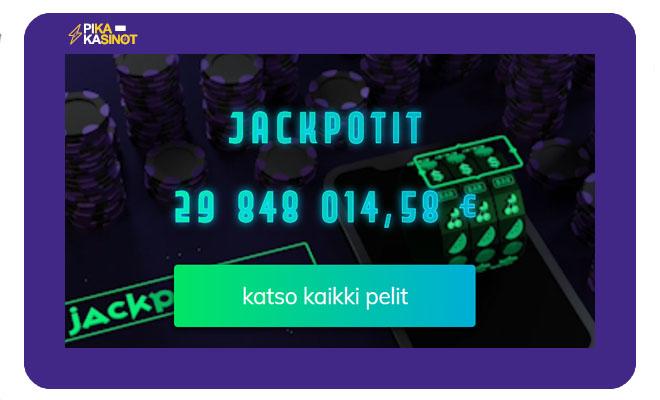 Jackpot pelit ovat erittäin tärkeitä Buster Banks Casinolle