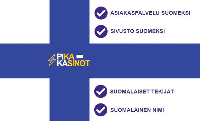 nain valitsemme suomalaiset pikakasinot