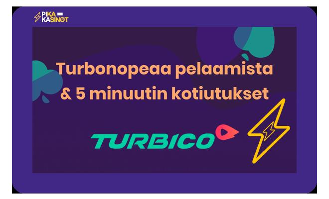 Turbico Casino on loistava paikka yksinkertaiseen pelaamiseen.