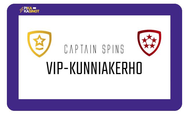 Captain Spins VIP ohjelma