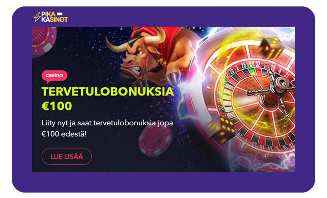 Night Rush Casino 100 € bonus