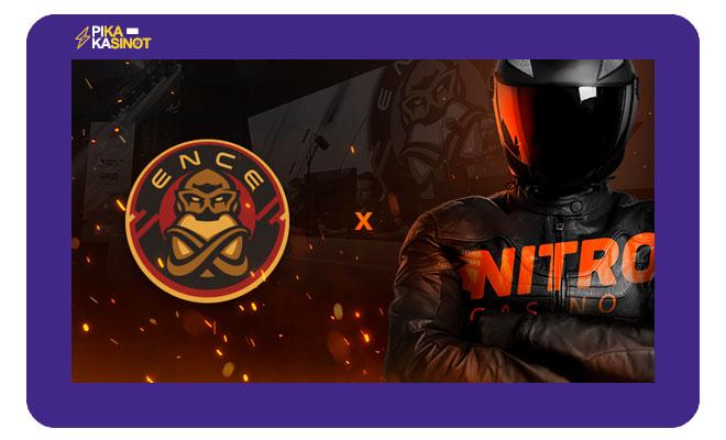 Nitro Casino ja ENCE aloittavat yhteistyön 1 heinäkuuta 2020