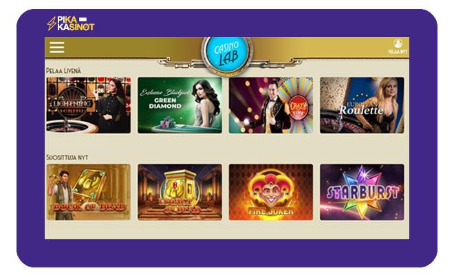 Casinolab kokemuksia