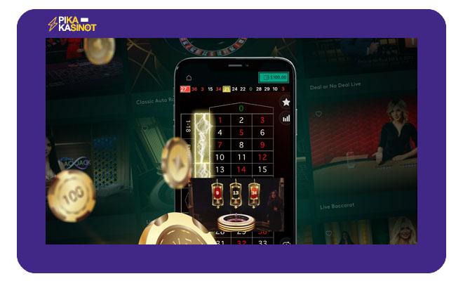 Live Casinolta löydät parhaat pelit