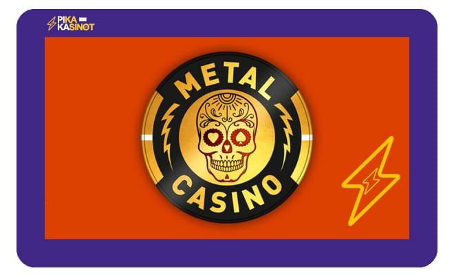 Metal Casinolla pääset aloittamaan pelit 100% bonuksella - Lue kokemuksia ja arvostelu kasinosta