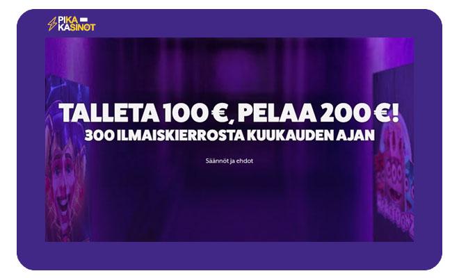 Frankfred.com bonus on nyt 100% 100 € asti. Päivittynyt 16.12.2020.