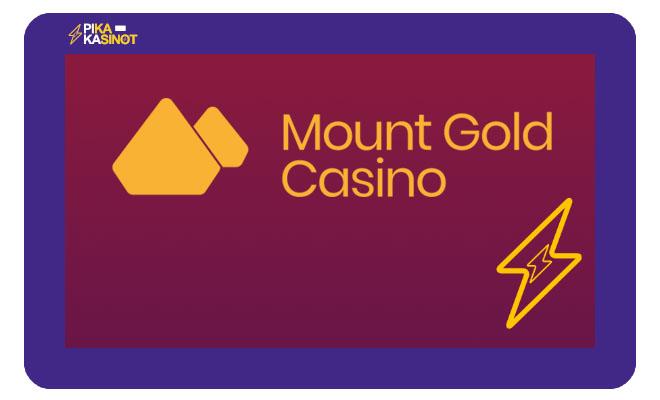 Mount Gold Casino on joulukuussa 2020 julkaistu pikakasino