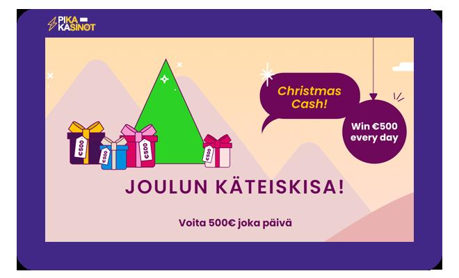 Esimerkiksi Joulukuussa 2020 pelaajat palkittiin 500 eurolla käteistä per vuorokausi