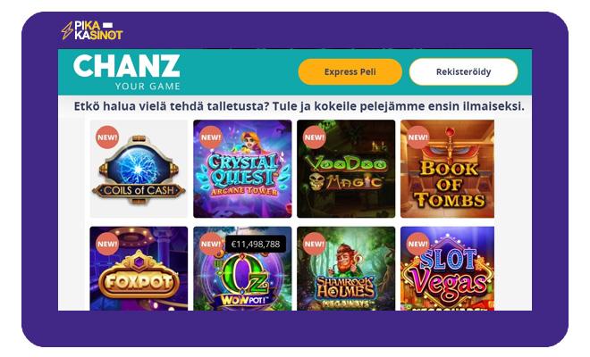 Chanz kasinon aula