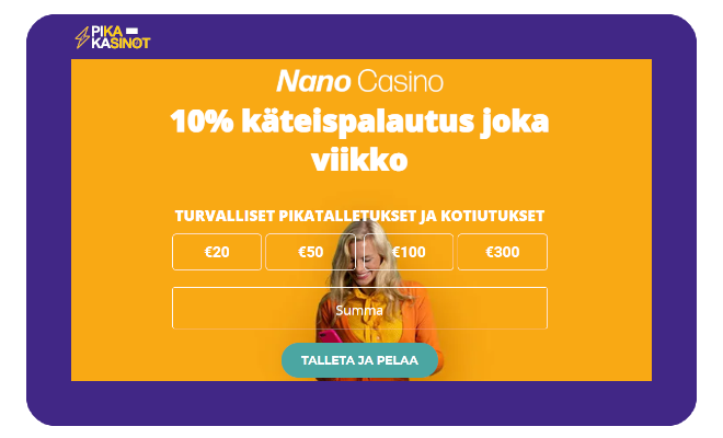 nano casino kokemuksia