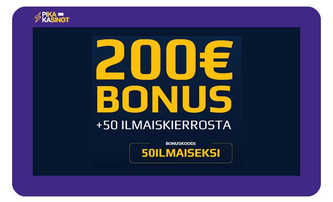 Nappaa loistava 200 € bonus NetBetiltä