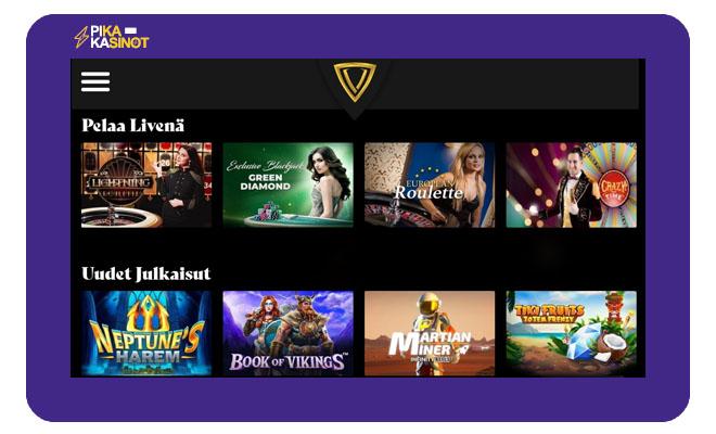 Vegasoo Casino kokemuksia